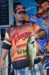 On the strength of a two-day catch of 39 pounds, Kenneth
