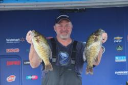 Rotating dropshot baits proved effective for third-place pro Gregg Seal.