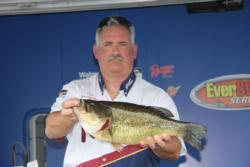 This 6-pound, 12-ounce largemouth earned Snickers Big Bass honors for Stephen Semelsberger.