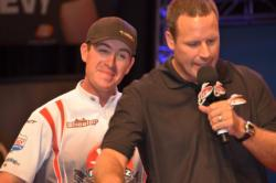 2011 BFL All-American champion Jacob Wheeler talks about his amazing ninth-place finish after the second day of Cup competition.