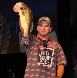 Hometown angler Dakota Lucy bagged a 5-pounder that helped him make the final cut in ninth place.
