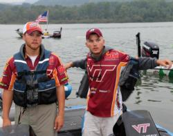 Wyatt Blevins and Carson Rejzer will be looking to keep Virginia Tech in the top-5.