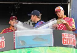 Two largemouth and one smallmouth gave Carson Rejzer and Wyatt Blevins what they needed to secure their final-round berth.