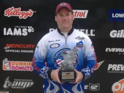 Co-angler Thomas Jones of Kannapolis, N.C., used a total catch of 21 pounds, 7 ounces to win the two-day BFL Super Tournament on High Rock Lake. For his efforts, Jones walked away with $2,600 in winnings.
