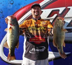 A mix of reaction baits and finesse tactics led Michael C. Tuck to third place.