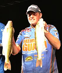 Coming in fifth was National Guard pro Bill Shimota of Lonsdale, Minn., 18 walleyes, 61-1, $10,000.