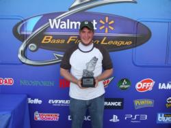 Co-angler Nathan Nichols of Shelby Township, Mich., used a total catch of 39 pounds, 1 ounce to win the two-day BFL Super Tournament on the St. Clair River. For his efforts, Nichols took home over $2,000 in winnings.