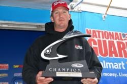 Pro Bryan Schmitt of Deale, Md., took home first place at the EverStart Potomac River event after netting a total catch of 47 pounds, 14 ounces.