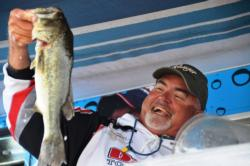 Pro Mike McDonald of Randleman, N.C., used a 42-pound, 7-ounce catch to finish the Potomac River event in third place.