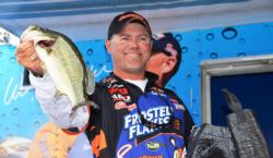 Kellogg's team pro Dave Lefebre of Union City, Pa., used a catch of 41 pounds, 5 ounces to finish the Potomac River event in fourth place.