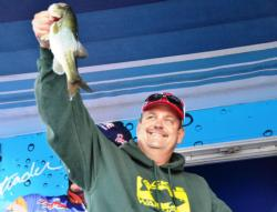 Co-angler Brian Keister of Cedar Brook, N.J., finished the EverStart Potomac River event in fifth place overall with a total catch of 30 pounds, 11 ounces.