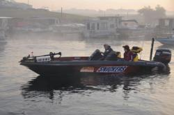 FLW College Fishing Central Regional action kicks off.
