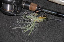 Spinnerbaits will be a good choice for covering water and finding fish.