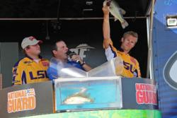 Crankbaits were the choice for fourth-place LSU