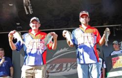 Sam Starr and Brady Sherman took second place for McPherson High.