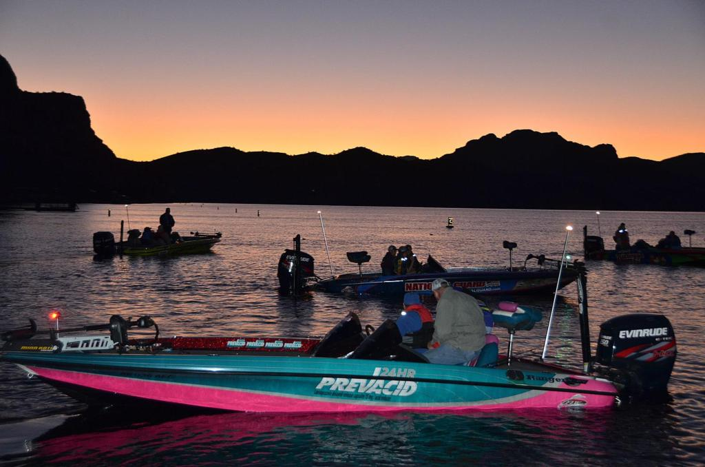 Flw college fishing western regional championship under for Flw college fishing