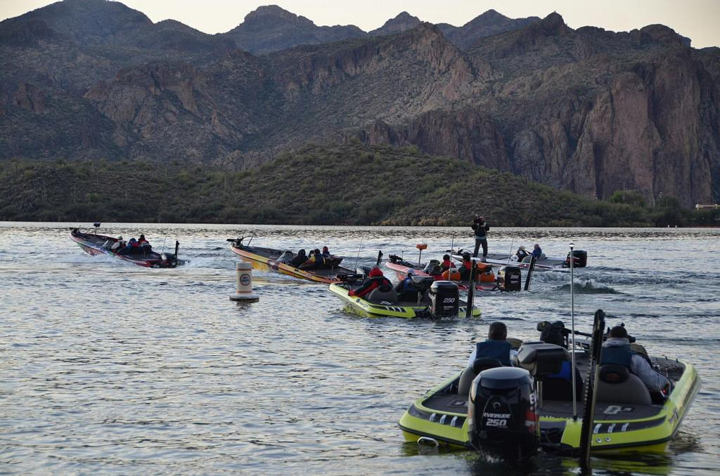 Tough test in tempe flw fishing articles for Saguaro lake fishing