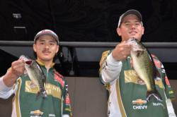 The Sacramento State team of Thomas Kanemoto and Robert Matsuura finished the western regional in third place overall.