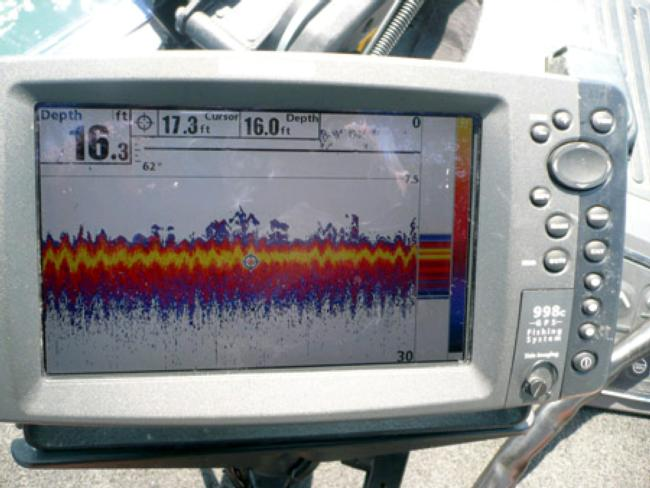 Electronics can speed up searches for big bass in big water.