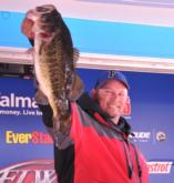 Bobby Lane of Lakeland, Fla., holds down the fourth place spot with 18 pounds, 4 ounces.