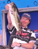 Brian Holder of Gastonia, N.C., finished in fourth place with a three-day total of 48 pounds, 14 ounces.