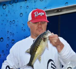 Pro Willie Church of Cottonwood, Calif., took sixth place overall at the EverStart Lake Shasta event.
