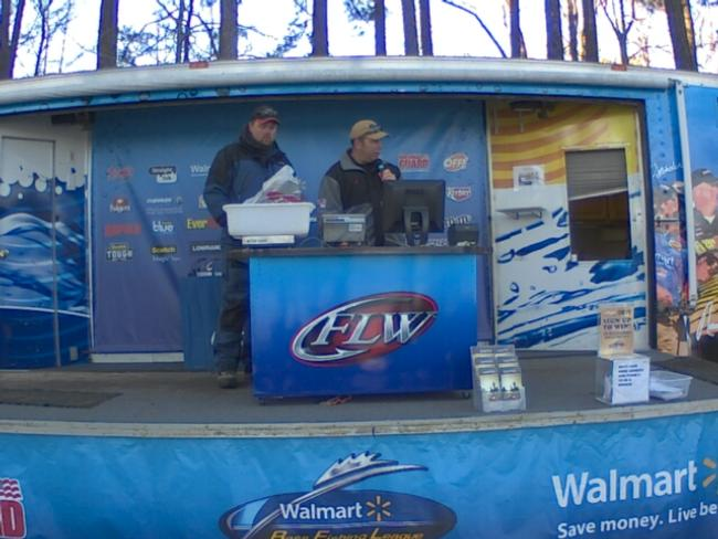 Flw fishing thomas moore angler profile for Walmart with live fish near me