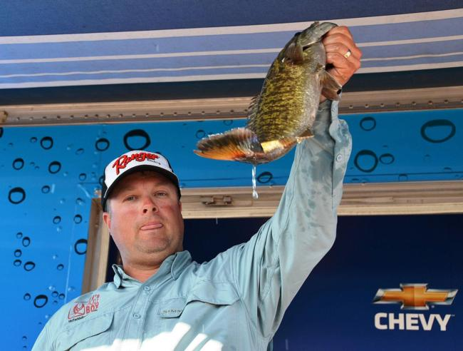 Pro Michael Tuck of Granite Bay, Calif., used a total catch of 48 pounds, 4 ounces to net fifth place overall on Lake Havasu.