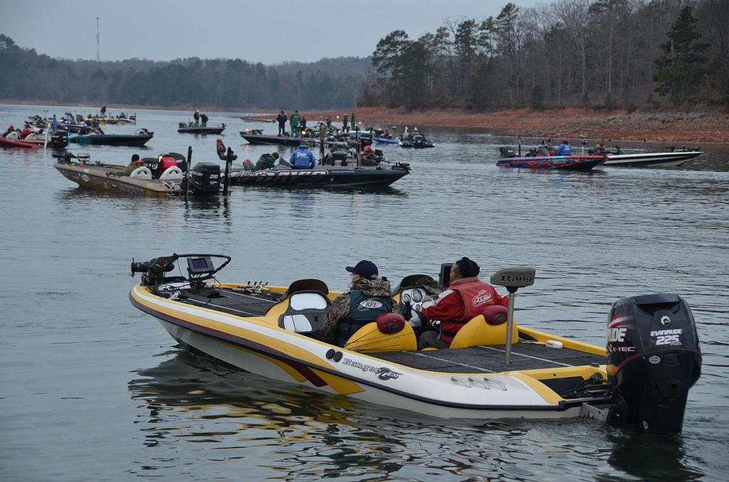 Flw tour preview lake hartwell flw fishing articles for Fishing lake hartwell