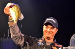Anthony Gagliardi of Prosperity, S.C., finished the FLW Tour event on Lake Hartwell in fifth place.