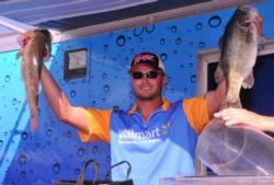 Lake Okeechobee EverStart Series winner Brandon Medlock of Lake Placid, Fla., finished fifth with a three-day total of 49 pounds, 2 ounces.