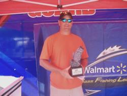 Tim Beale of Hernando, Miss., parlayed a total catch of 13 pounds, 1 ounce into a co-angler title at the March 31 Walmart BFL Mississippi River Division event on Ross Barnett Reservoir. For his efforts, Beale walked away with nearly $2,200 in winnings.