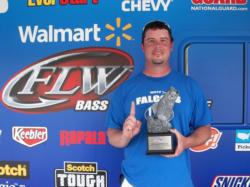 Robert Hipps of Troutman, N.C., took first place in the Co-angler Division at the March 31 Walmart BFL North Carolina Division event on Kerr Lake. Hipps parlayed a total catch of 11 pounds, 10 ounces in more than $1,600 in winnings.