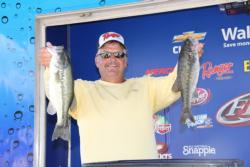 Randy Rose topped the co-angler field on day one.