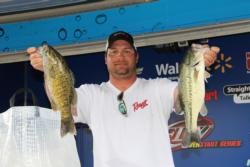 Arkansas pro Zach King held on to his third-place position.
