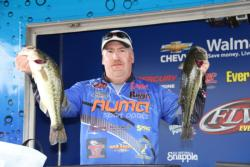 Rich Dalbey made a big move up to fifth place on day two.