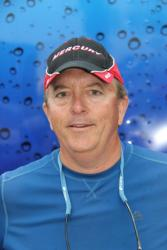 Co-angler leader David Gillham used a combination of plastic baits on day two.