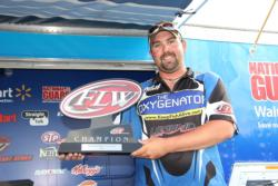 Philip Crelia lead all three days on Rayburn.