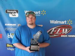 Scott Frye of Sumter, S.C., won the Co-angler side of the April 14 Walmart BFL South Carolina Division event on Santee Copper with a final weight of 15 pounds, 2 ounces. For his effort Frye took home over $1,700 in winnings.
