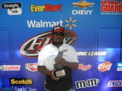 Co-angler Larry Freeman of Baskerville, Va., took first in the April 21 Piedmont Division event on Lake Gaston with a total catch of 13 pounds, 10 ounces. Freeman brought home almost $1,500 in prize money.