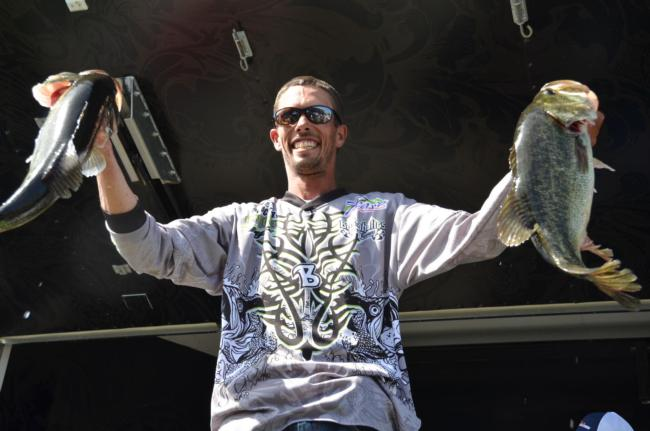 Pro Paul Bailey of Kelseyville, Calif., took home fourth place overall at the EverStart Clear Lake event.