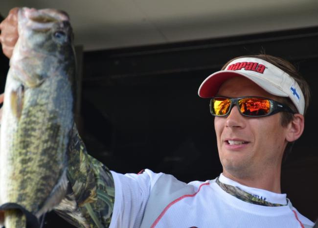 Pro Troy Lindner of Los Angeles, Calif., took sixth place overall at Clear Lake.