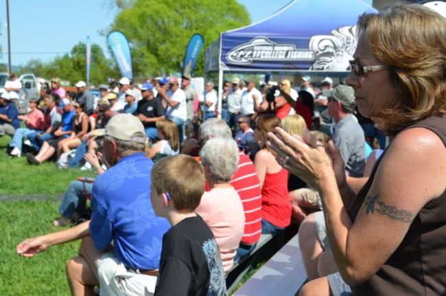 A great crowd was on hand to witness the final day of EverStart competition at Clear Lake.