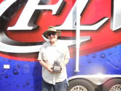 Co-angler Joe Coble of Malvern, Ark., took the title at the May 5 Arkie Division event on Greers Ferry Lake with a total catch of 11 pounds, 3 ounces. Coble walked away with over $1,700 in prize money.