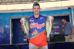 Conrad Bolt sacked up a nice limit and improved to fifth place.