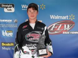 Co-angler DJ McEachern of Columbia, S.C., won the June 2 South Carolina Division event on Lake Wateree with a weight of 13 pounds, 2 ounces. For that catch he walked away with a check for over $1,500.