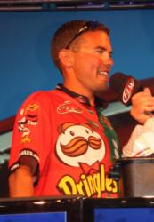 Terrance Smith took second on the co-angler side with 42-14 over three days.