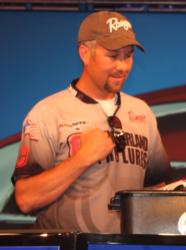 Brad Roberts ended up third among co-anglers with a three-day catch of 42 pounds, 2 ounces.