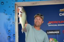 Brian Divito of Trafford, Pa., took fourth place in his first time fishing an EverStart event with a three-day total of 33 pounds, 3 ounces.