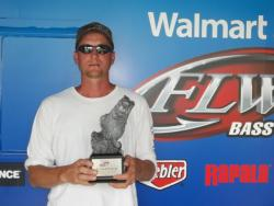 Co-angler Mark Miller of Baltic, Ohio, won the June 16 Buckeye Division event on Mosquito Lake with a five-bass limit worth 10 pounds, 5 ounces. He walked away with over $2,000 in winnings.